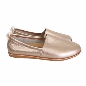 NWOT SOREL Ella Slip On Flat Warm Gold Size 8